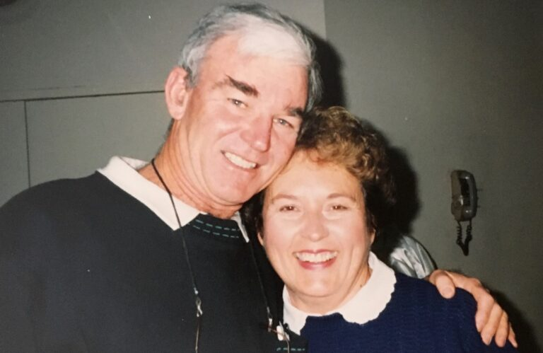 Jim and Jocelyn Rafter.
