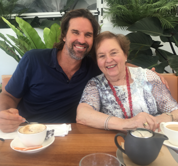 Louise and Pat Rafter